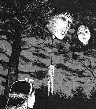 代々木の気球が伊藤潤二『首吊り気球』っぽいと話題になったことを受け急遽無料公開! 明日まで